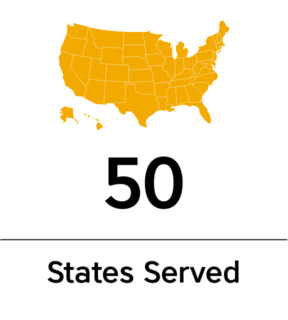 50 States Served by AF Group.